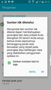 Pengaturan Android 3